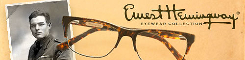 Ernest Hemingway Eyeglasses available at Eyeglassdirect.com