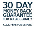 30 day money back guarantee on eyeglasses