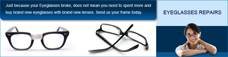 Repair Broken Eyeglasses at Eyeglassdirect.com