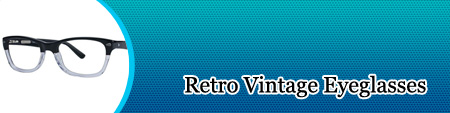 Retro Vintage Eyeglasses available at Eyeglassdirect.com