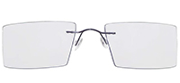 Rimless Titanium Eyeglasses Shape1