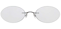 Rimless Titanium Eyeglasses Shape15