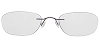 Rimless Titanium Eyeglasses Shape20